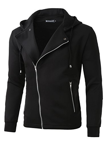 Best slant zipper jacket men to buy in 2019