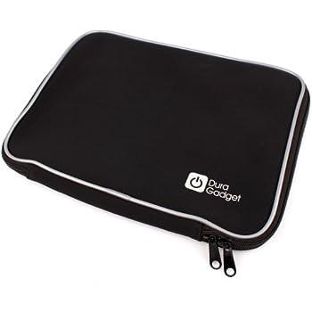 DURAGADGET Neoprene Laptop Case In Stylish Black For HP Pavilion 17-e079nr, HP Envy