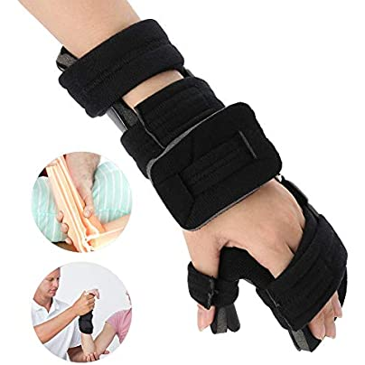 TMISHION Wristband Splint Stabilizer Strap Brace Support Arthritis Tunnel Carpal Wrist Aid Promotes Rapid Recovery from Hand Injury Estimated Price £12.01 - £24.61 -