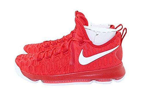 Chaussures De Basket Nike Zoom Kd 9 Hommes (14, Université Rouge / Blanc)