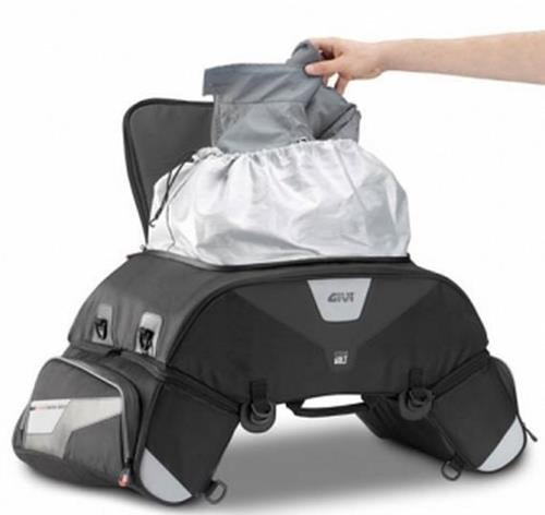 GIVI XS305  XSTREAM Bag 3  pezzi Borsa da Sella, Nero Givi Deutschland GmbH