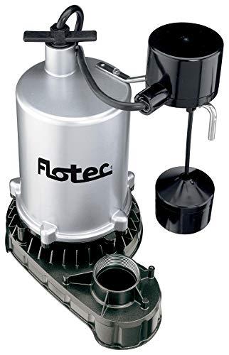 Pentair Water Pumps FPZT7350 Flotec 1/2 hp Submersible Sump Pump