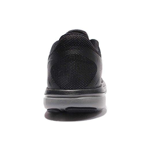 Nike Womens Wmns Flex 2016 Rn Shield, Cool Grijs / Mtlc Hematite-zwart, 11.5 Us