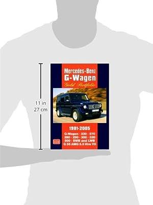 Mercedes-Benz G-Wagen Gold Portfolio 1981-2005