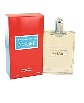 Adrienne Vittadini Amore Eau de Parfum Spray for Women, 3.4 Ounce