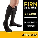 Futuro Dress Socks for Men, Firm