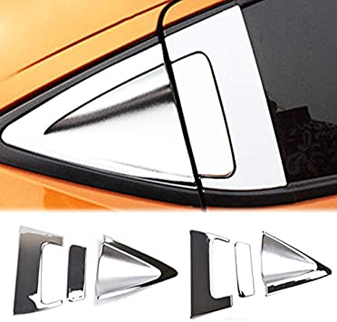 Fit For Honda HR-V HRV Chrome Rear View Side Mirror Cover Molding Trim Protector