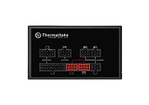 Thermaltake Smart Pro RGB 650W 80+ Bronze Certified PSU. Ultra Quiet Smart Zero 256-Color RGB, Fan Fully Modular, ATX 12V 2.4/EPS 12V 2.92 Power Supply. 7 Year Warranty PS-SPR-0650FPCBUS-R by Thermaltake (Image #3)