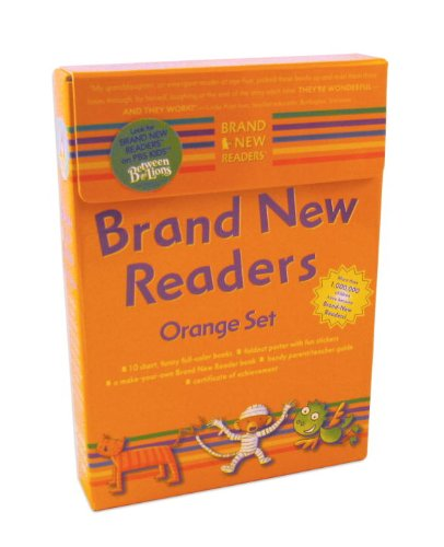 - Brand New Readers: Orange Set (Cat and Mouse, Pizza, Dinah's Dream, Dinah Likes to Eat, Kazam's Birds, Kazam's Coins, Where Is Tabby Cat?, Cat Bath, Monkey the Mummy, and Monkey Flies Away)