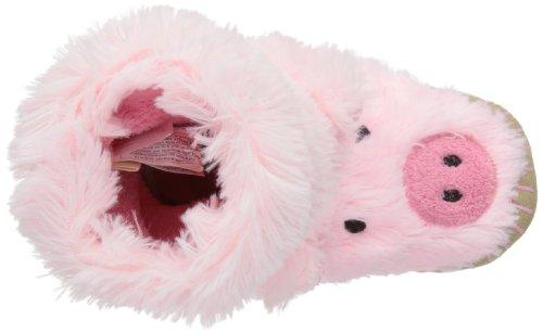 hatley  Kids Slouch SL3FAPI001,  Unisex - Kinder Hausschuhe Piggy