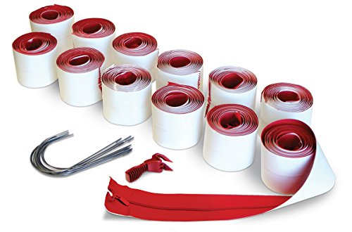 (ZipWall 12-Pack Heavy-Duty Zipper for Dust Barriers, HDAZ12)
