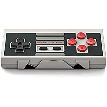 Carelove8Bitdo Bluetooth Wireless Classic NES Controller for iOS and Android Gamepad - PC Mac Linux