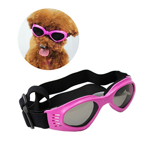 Enjoying Pet/Dog Puppy UV Goggles Sunglasses Waterproof Protection Sun Glasses For Dog - - Puppy Sunglasses