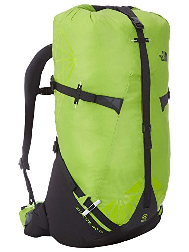 The North Face Shadow 40 Plus 10 Hiking Backpack Macaw Green Safety Green