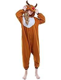 Unisex Reindeer Pyjamas Onesie Christmas Costume
