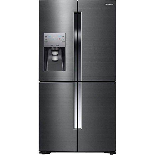 (Samsung RF23J9011SG/RF23J9011SG/AA/RF23J9011SG/AA 22.5 cu. ft. Black Stainless Counter-Depth French 4-Door Flex Door Refrigerator)