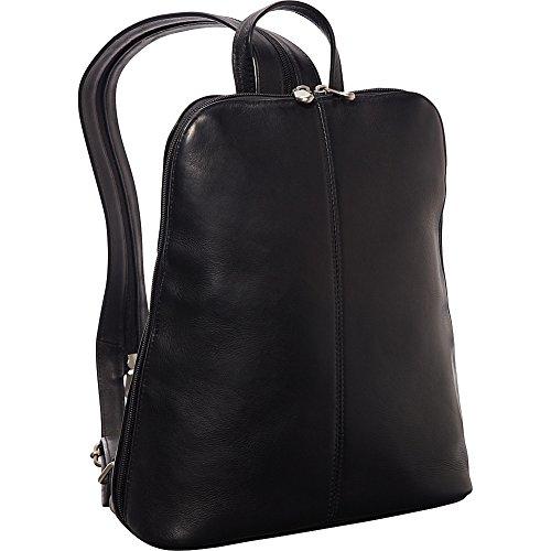 Le Donne Leather Womens iPad eReader Backpack Sling