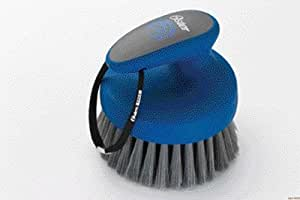 Oster Equine Care Series Face Grooming Brush, Medium Bristle, Synthetic, Blue