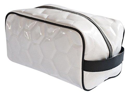 Zumer SportメンズToiletry Bag B00GRANKR2 One Size|Soccer White Soccer White One Size
