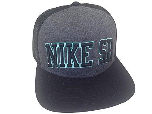 ad4375be755 Nike SB Skateboarding Snapback Hat Grey Black - Buy Online in UAE ...