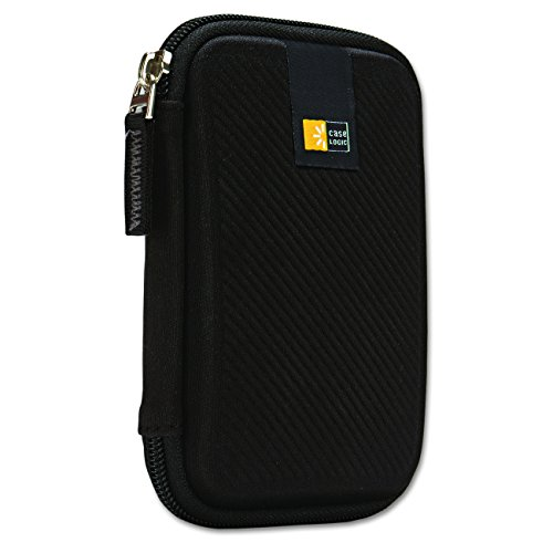 101 Shell - Case Logic EHDC-101 Hard Shell Case for 2.5-Inch Portable Hard Drive - Black