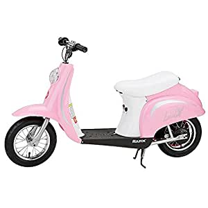 Razor Pocket Mod Miniature Euro 24V Electric Retro Scooter, Pink | 15130610