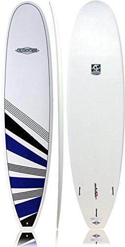 Cortez tablas de surf Funboard tabla de surf 7 ft 6 - azul marino/negro: Amazon.es: Deportes y aire libre