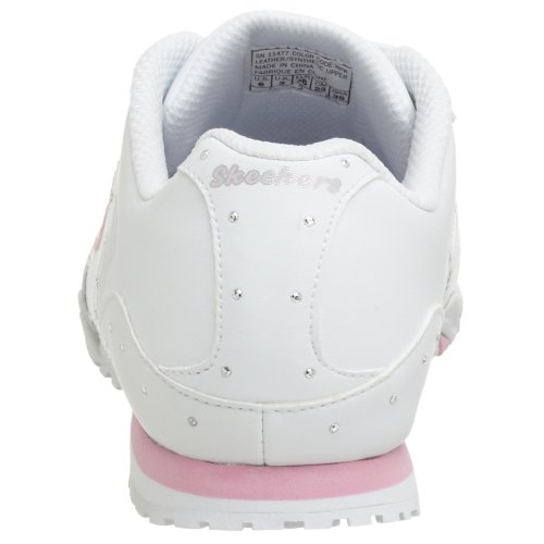 Skechers Sport Dames Boost Sneaker Wit / Roze