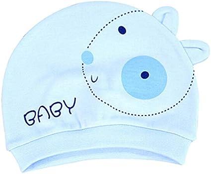 Homeofying Sombrero De Unisex Gorro De Recién Nacido Cute Smile Face Conejo Diseño Gorra De Algodón Gorros Cálidos Gorros Sky Blue_Rabbit: Amazon.es: Belleza
