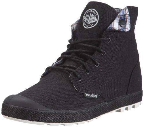 070 Palladium Zapatos 92835 Bajos Encaje nbsp;slim Negro m Para Mujer qqwOp7