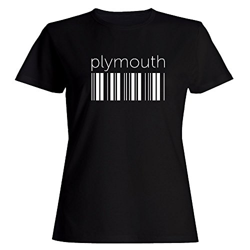 Idakoos Plymouth barcode - Capitals - Women T-Shirt (Plymouth Bar)