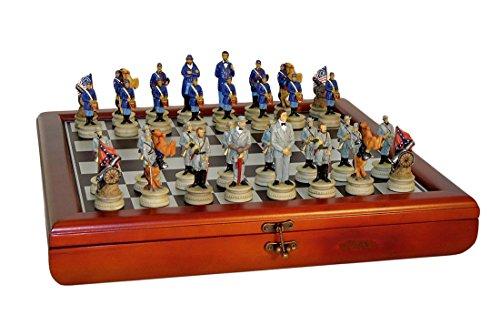 WorldWise Imports Civil War Generals Chess Set