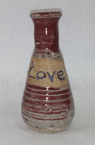 Aunt Chris' Pottery Hand Made Clay  Bottle
