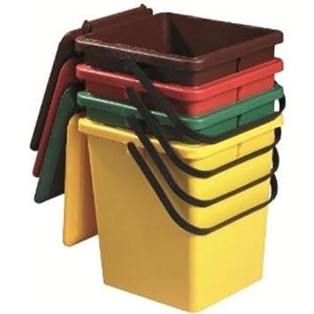 Top Kompostereimer / BIO Eimer, 10 l, grün: Amazon.de: Baumarkt OF69