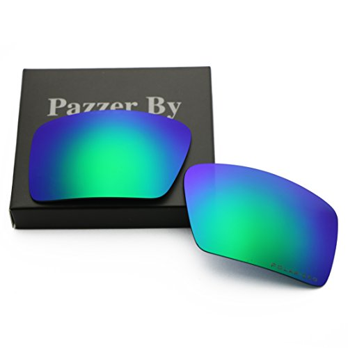 Polarized Replacement Lenses for Oakley Eyepatch 2 - Green Mirrored - 2 Replacement Eyepatch Lenses Oakley