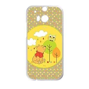 HTC One M8 White phone case Winnie the Pooh YFN4330626