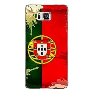 "Disagu Design Protective Case para Samsung Galaxy Alpha Funda Cover ""Portugal"""