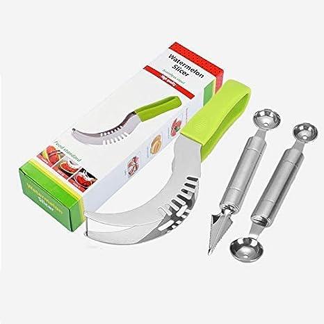 Amazon.com: Alyux - Cuchara cortadora de sandía de acero ...