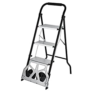 Orangea Vd 33859tl 3 Cart 2 In 1 Convertible Step Ladder