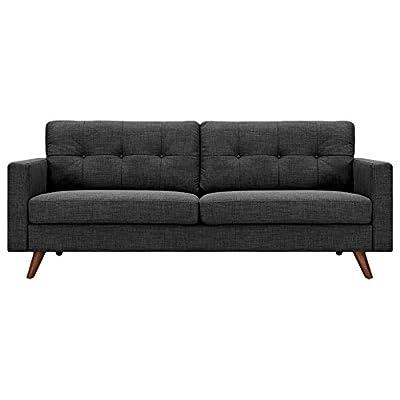 NyeKoncept 223358-B Uma Sofa, Charcoal Gray