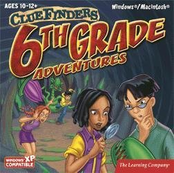 Clue Finders 6th Grade Educational Computer Game