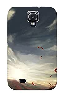 Appearance Snap-on Case Designed For Galaxy S4- Girl On The Poppy Field (best Gifts For Lovers)