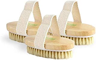 product image for Repechage Body Dry Brush Exfoliator w/Natural Bristles | Manual Exfoliator Helps Reduce the Appearance of Cellulite, Helps Improve Circulation | Deep Pore, Skin Cleansing Eliminates Dead Cells