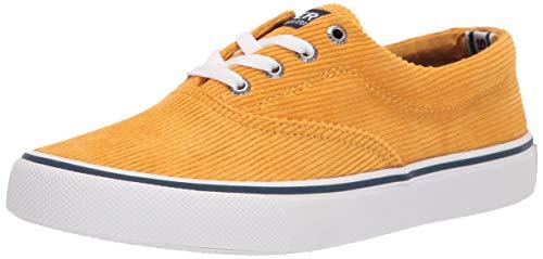 Sperry mens Striper Ii Cvo Corduroy Sneaker, Yellow, 14 US