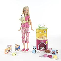 Barbie I Can Be... Pet Sitter Playset