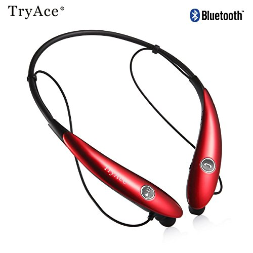 Stereo Bluetooth Headset (Red) - 8