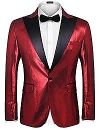 Men's Fashion Suit Jacket Blazer Weddings Prom Party Dinner Tuxedo