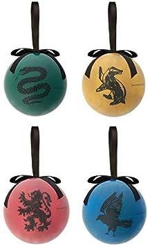 Harry Potter 4 Pack Bolas Bolas Decorativas de Árbol de Navidad ...