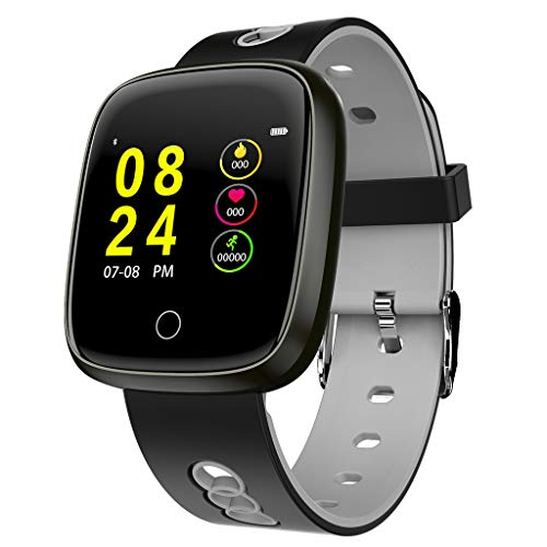 Alimao Activity Tracker Watch with Heart Rate Monitor,Health Sleep Activity Tracker Pedometer,Step Counter,Calories Counter for Android 4.4 / iOS 8.0