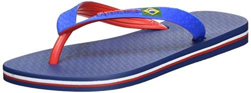 Ipanema Brazil Bicolor, Chanclas Unisex Adulto Mehrfarbig (blue/red)